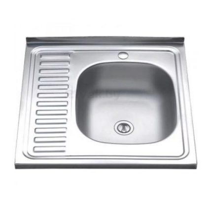 Мойка для кухни накладная 600*600 мм
