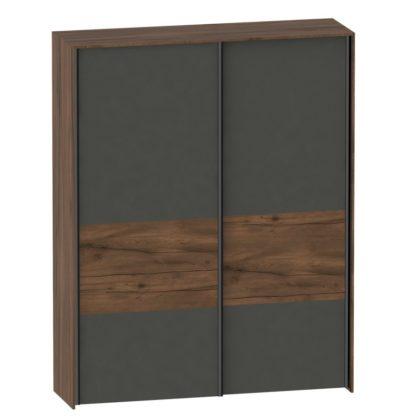 """Шкаф """"Глазго"""" с раздвижными дверями двухдверный"""