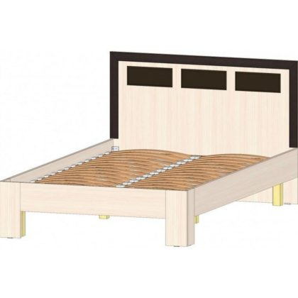 """Кровать двуспальная 1,2 м """"Венеция"""""""