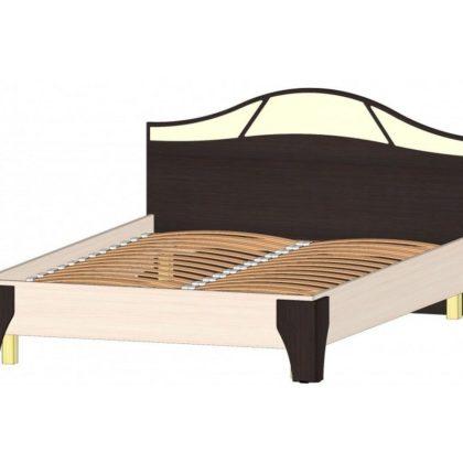 """Кровать двуспальная 1,4 м """"Верона"""" венге/дуб мол."""