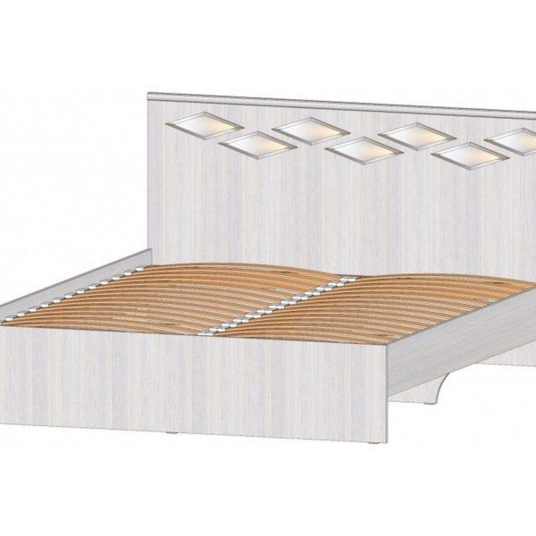 """Кровать двуспальная 1,6 м """"Диана"""""""