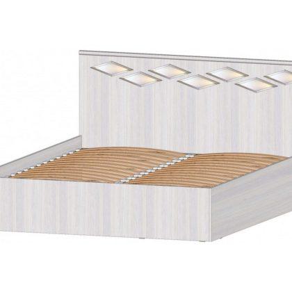 """Кровать двуспальная 1,6 м с подъёмный механизмом """"Диана"""""""