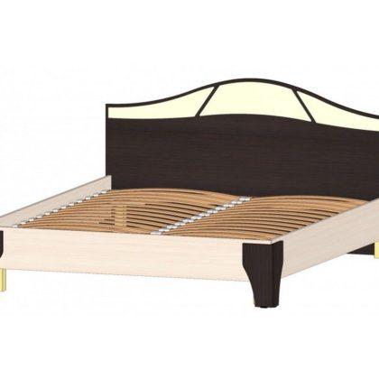 """Кровать двуспальная 1,6 м """"Верона"""" венге/дуб мол."""