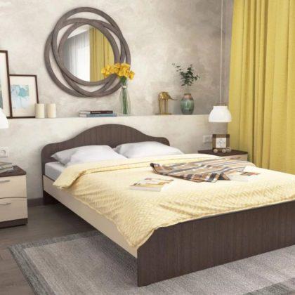 Кровать ЛДСП КР-2, венге