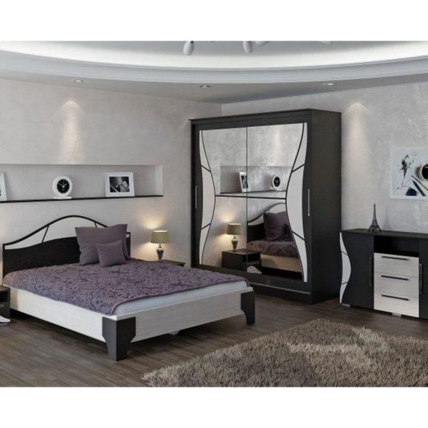 """Модульная спальня """"Верона"""" венге/дуб мол."""