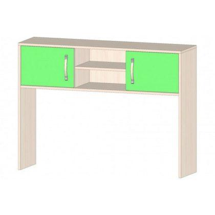 """Надстройка для стола """"Буратино"""" дуб мол./зеленый"""