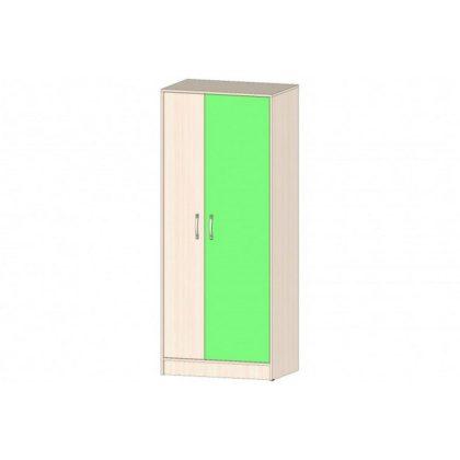 """Шкаф для одежды """"Буратино"""" дуб мол./зеленый"""