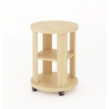 Столик кофейный СКФ-01 беленый дуб