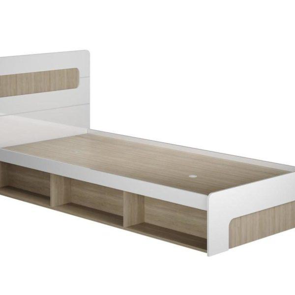 """Кровать детская 0,9м """"Палермо-3/Юниор"""" КР-001 с подъемным механизмом"""