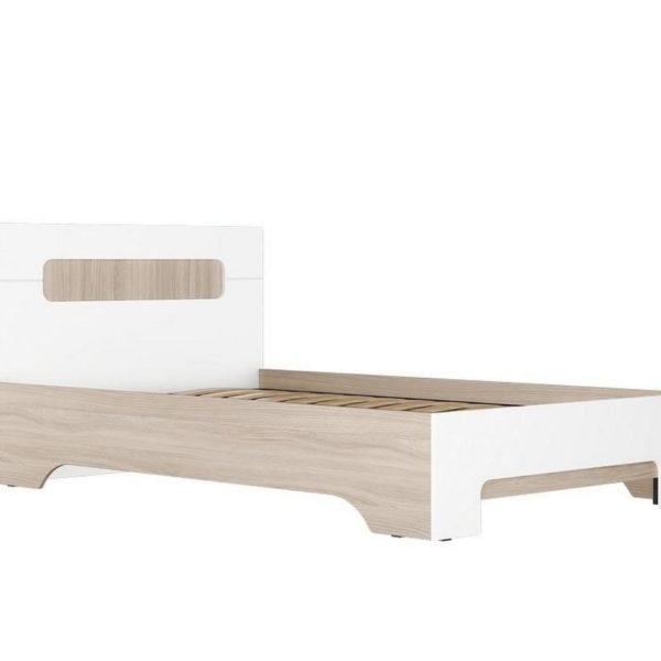 """Кровать двуспальная 1.4м """"Палермо-3"""" КР-003 без ортопеда"""