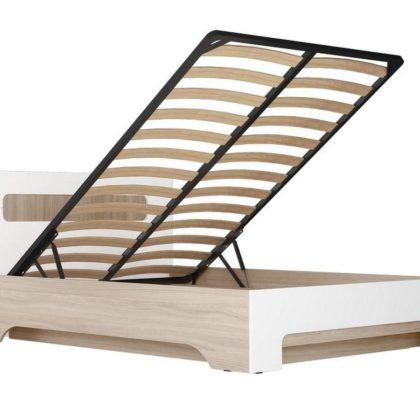 """Кровать двуспальная 1.4м """"Палермо-3"""" КР-003 с подъемным механизмом"""
