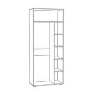 "Шкаф двухстворчатый для одежды ""Бьянка"" 1751-1"
