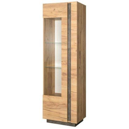 """Шкаф - витрина с подсветкой """"Арчи"""" 03.263"""
