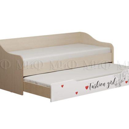 Кровати с выдвижной секцией