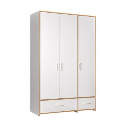 "Шкаф для одежды 3-х створчатый ""Вуди"" 10.77"