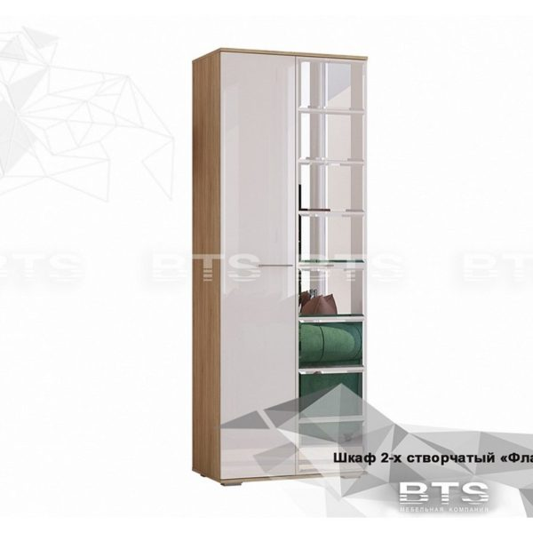 Шкаф двухстворчатый «Флай» ШК-04