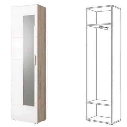 Шкаф для одежды «Лайн» 08.122