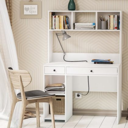 Стол компьютерный «Комфорт» 12.77 белый
