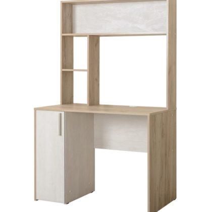 Стол компьютерный «Комфорт» 12.72 дуб крафт серый/шелковый камень