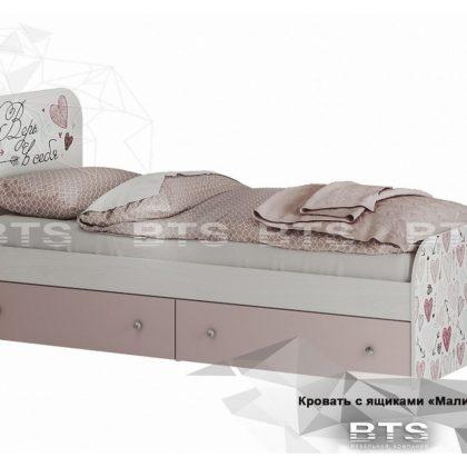 """Кровать с ящиками """"Малибу"""" КР-10"""
