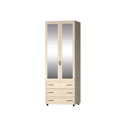 """Шкаф 2-х створчатый с ящиками """"Гармония"""" с зеркалами"""