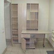 Стеллаж, стол, шкаф