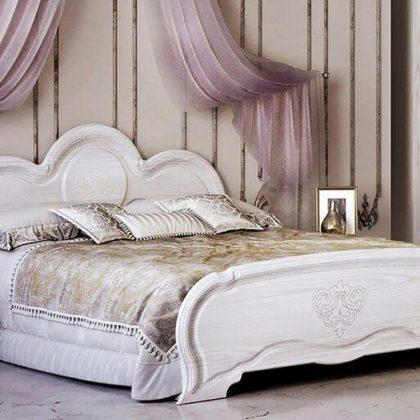 Кровать двуспальная 1,6 м «Филадельфия» КР-03