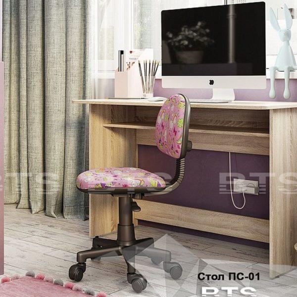 Стол письменный ПС-01 (BTS) дуб сонома