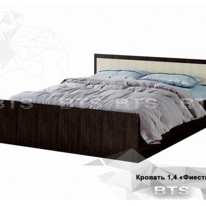 """Кровать двуспальная 1,4м """"Фиеста"""" (BTS)"""