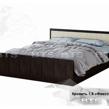 """Кровать двуспальная 1,6м """"Фиеста"""" (BTS)"""