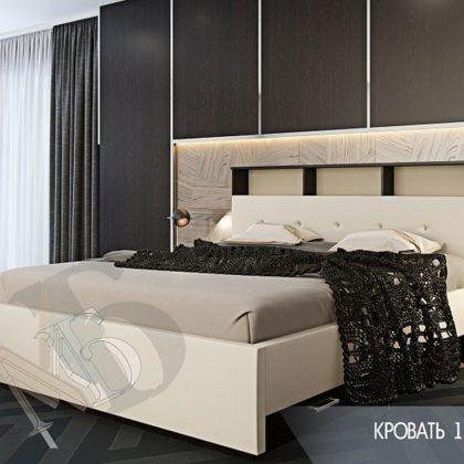 """Кровать двуспальная 1,6м """"Доменика"""""""