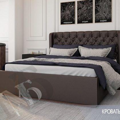 """Кровать двуспальная 1,6м """"Франческа"""""""