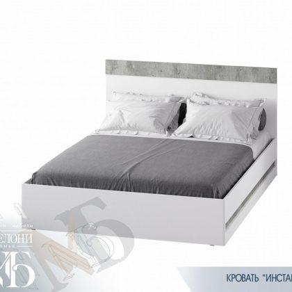 """Кровать двуспальная """"Инстайл"""" КР-04"""
