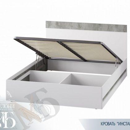 """Кровать двуспальная с подъем. мех. 1,6 м """"Инстайл"""" КР-04"""
