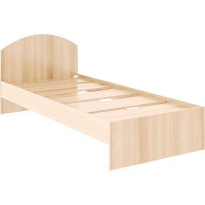 """Кровать односпальная """"Веста"""" 0,9 м, дуб млечный"""