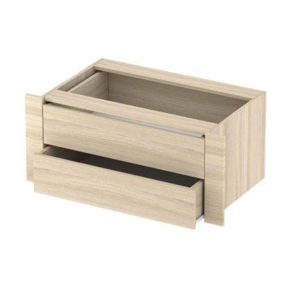"""Модуль с двумя ящиками к шкафам-купе """"Е1"""", сонома"""