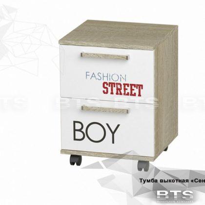 """Тумба с ящиками """"Сенди"""" мальчик ТБ-07 (BTS)"""