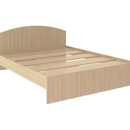 """Кровать двуспальная """"Веста"""" 1,6 м ясень шимо светлый"""