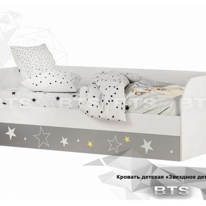 """Кровать детская """"Трио звездное детство"""" КРП-01"""