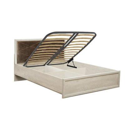 """Кровать с подъёмным механизмом (ш. 1400) """"Сохо"""" 32.26-01"""