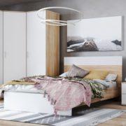 """Кровать двуспальная КР-44 """"Лайт"""" 1,2 м"""