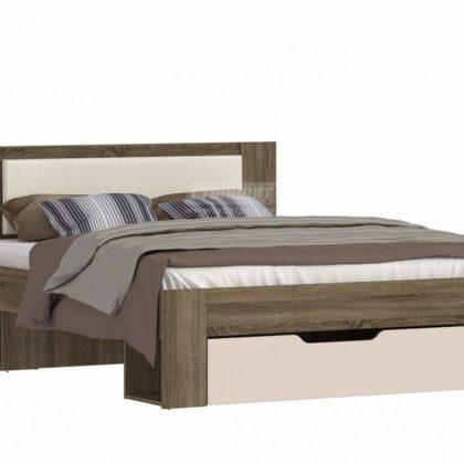 """Кровать двуспальная с ящиком 1,6м """"Монако"""" СБ-2324"""