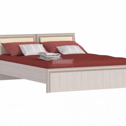 """Кровать двуспальная 1,6м """"Грация"""" СБ-2200"""