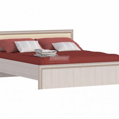 """Кровать двуспальная 1,6м """"Грация"""" СБ-2201"""