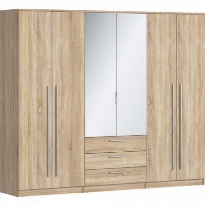 """Шкаф 6-ти дверный """"Николь"""" СБ-2593.Н"""