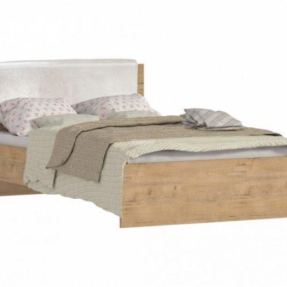 """Кровать двуспальная 1,2м """"Веста"""" СБ-2262 дуб бунратти"""