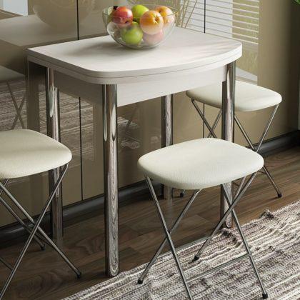 Стол обеденный «Лион (мини)» СМ-204.01.2 дуб белфорд