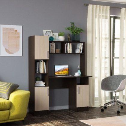 Компьютерный стол №2, венге/белфорд