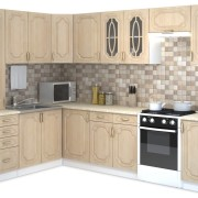 """Кухня """"Настя"""" (береза) 1,6 х 2,8 м"""