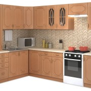 "Кухня ""Настя"" (ольха оксфорд) 1,6 х 2,8 м"
